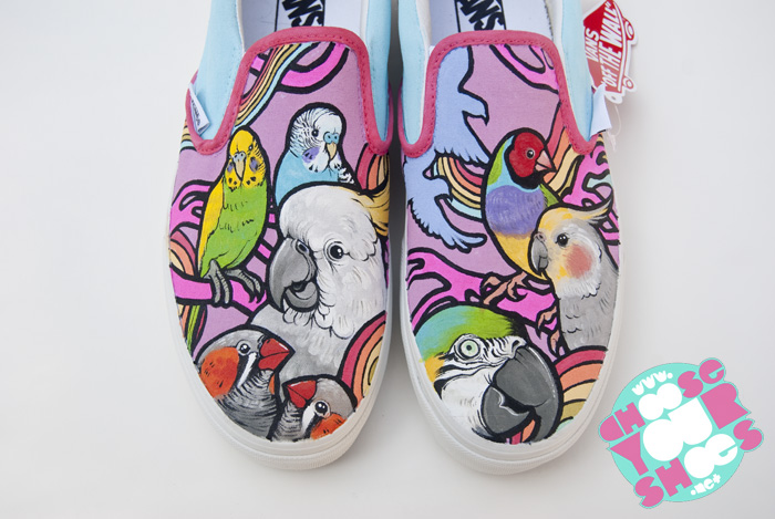 bird shoes by mburk