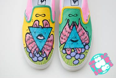 pyramid shoes