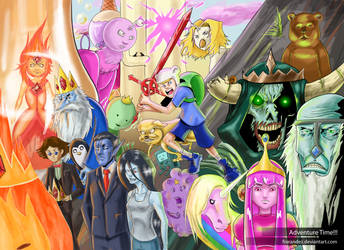 ITS ADVENTURE TIME!!! by Frarandez