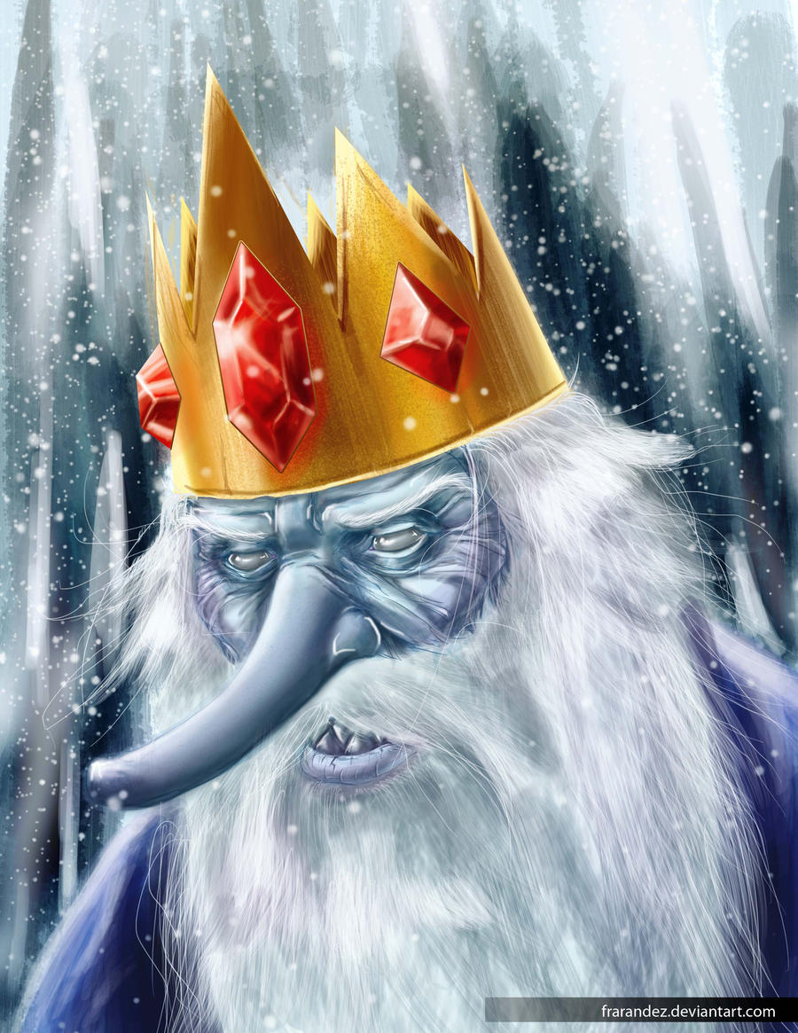 AT: Portrait- The Ice King by Frarandez