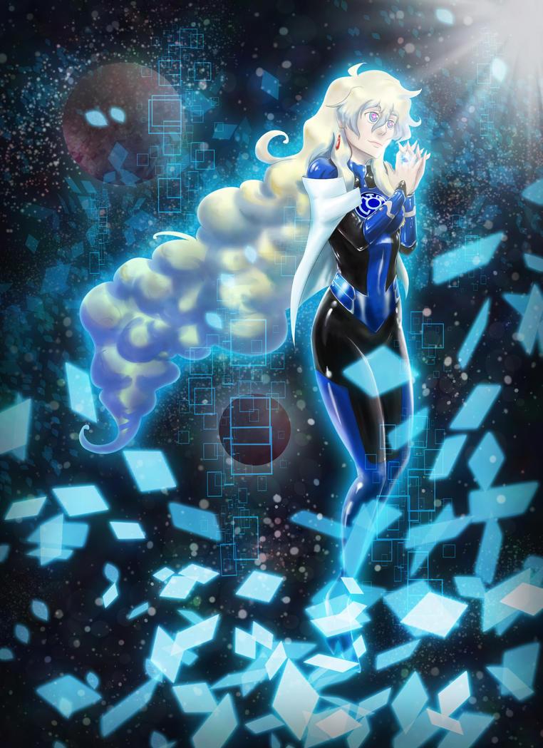 GL+TTGL Nia Blue Lantern by Frarandez