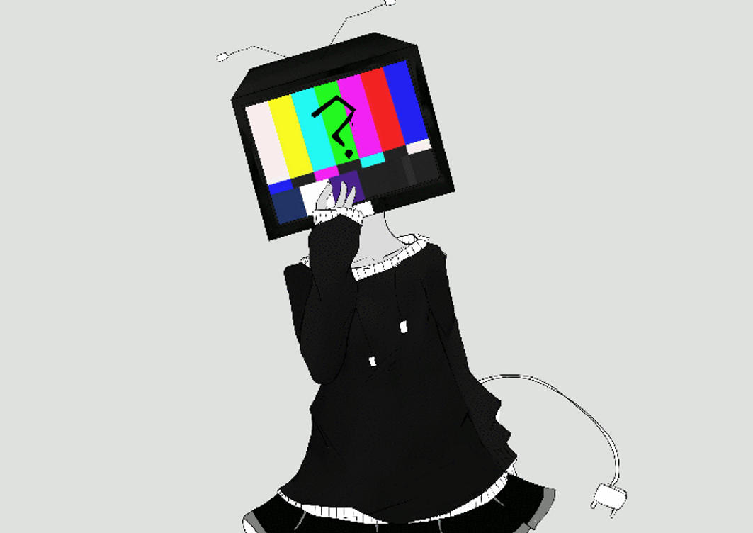 tv head by unicornartx on deviantart