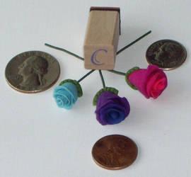 clay sample - Mini Roses