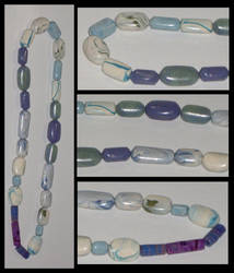 Marbled Clay Beads 1