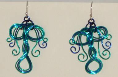 Raintree earrings by Catgoyle