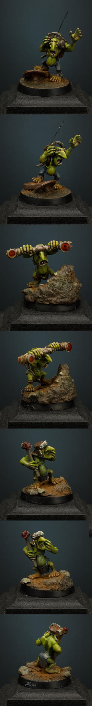 Forgeworld Grots by MassIveVoodoo
