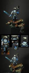 Ultramarine Honour Guard by MassIveVoodoo