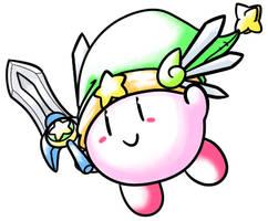 Ultra Sword Kirby by Aruesso