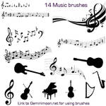Musical Brushes