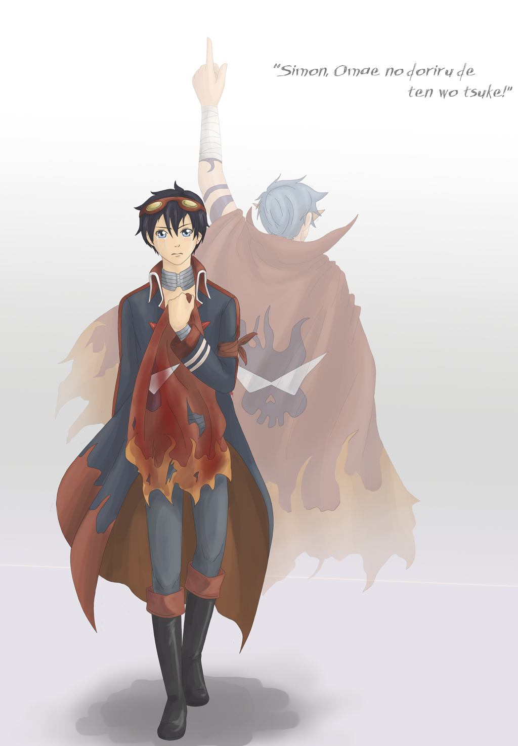 Kamina x Simon on Kamina--x--Simon - DeviantArt