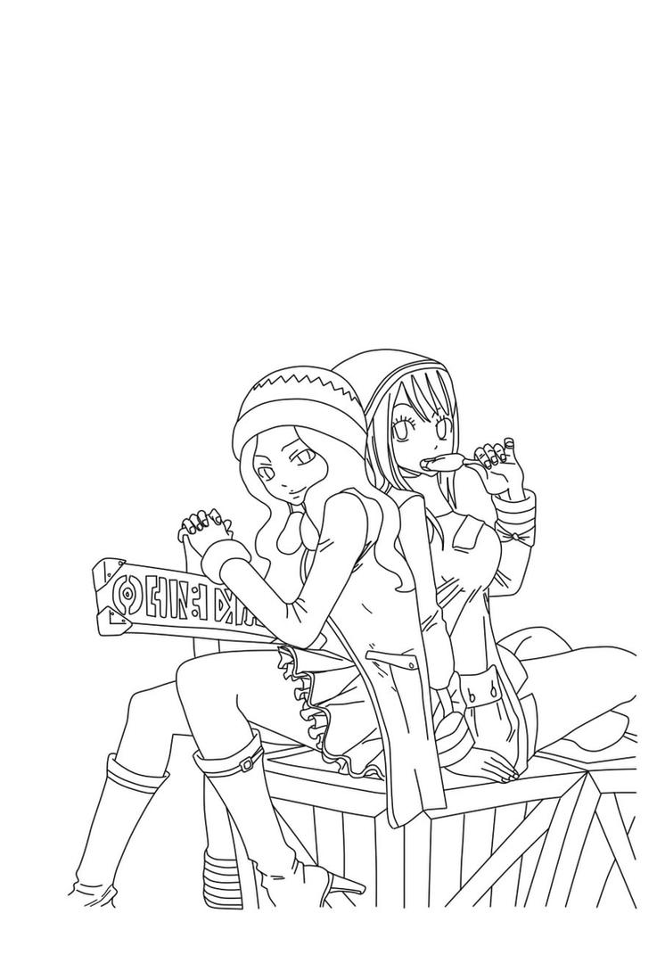 Fairy Tail Lineart By Tenshi Itachi On DeviantArt