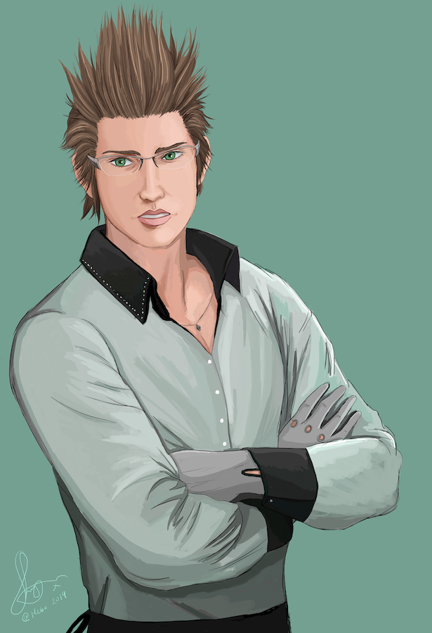 Ignis Portrait by He6o