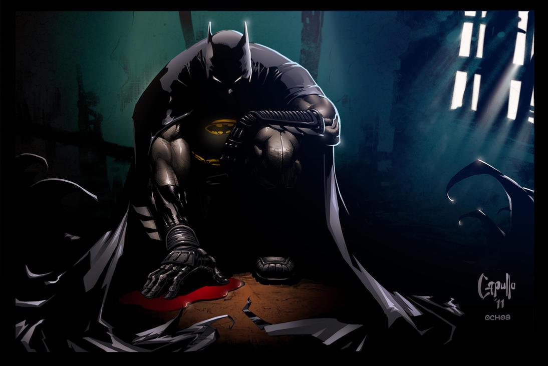 Batman - Greg Capullo by luisochoa
