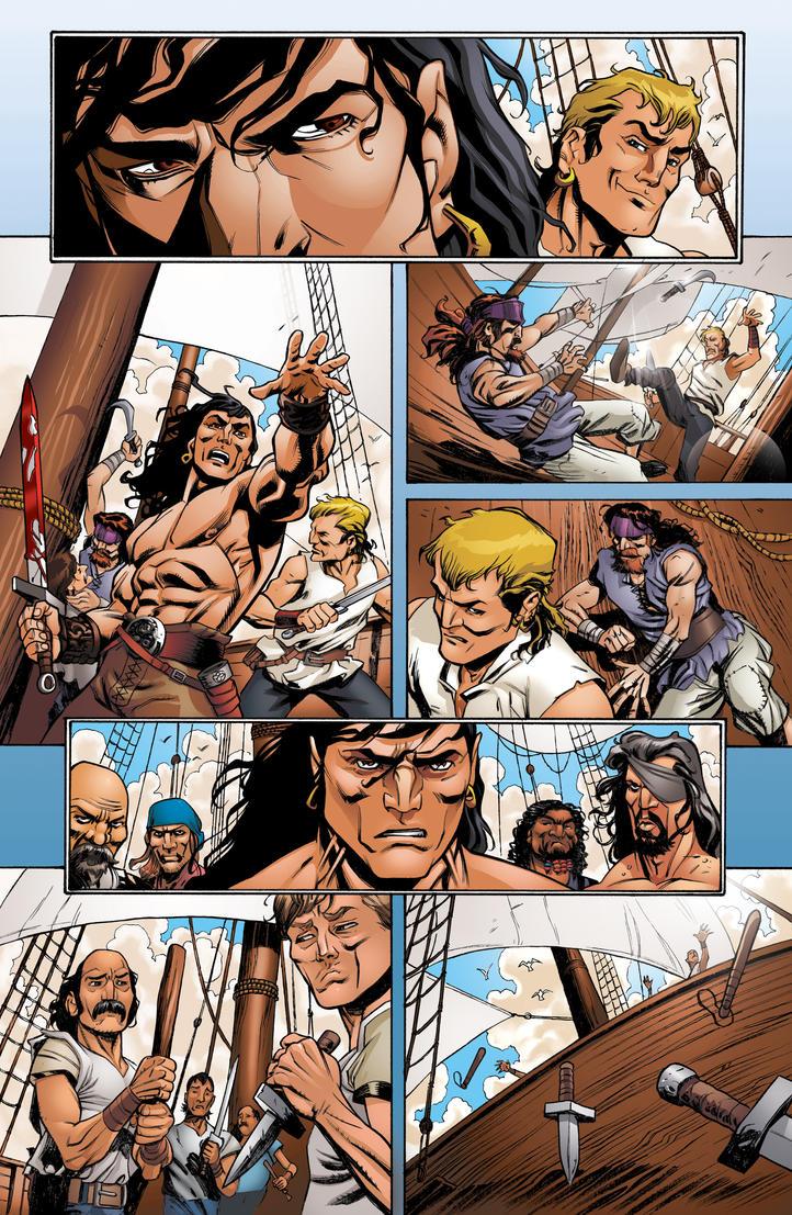 Conan1 pg3 - Colors by luisochoa