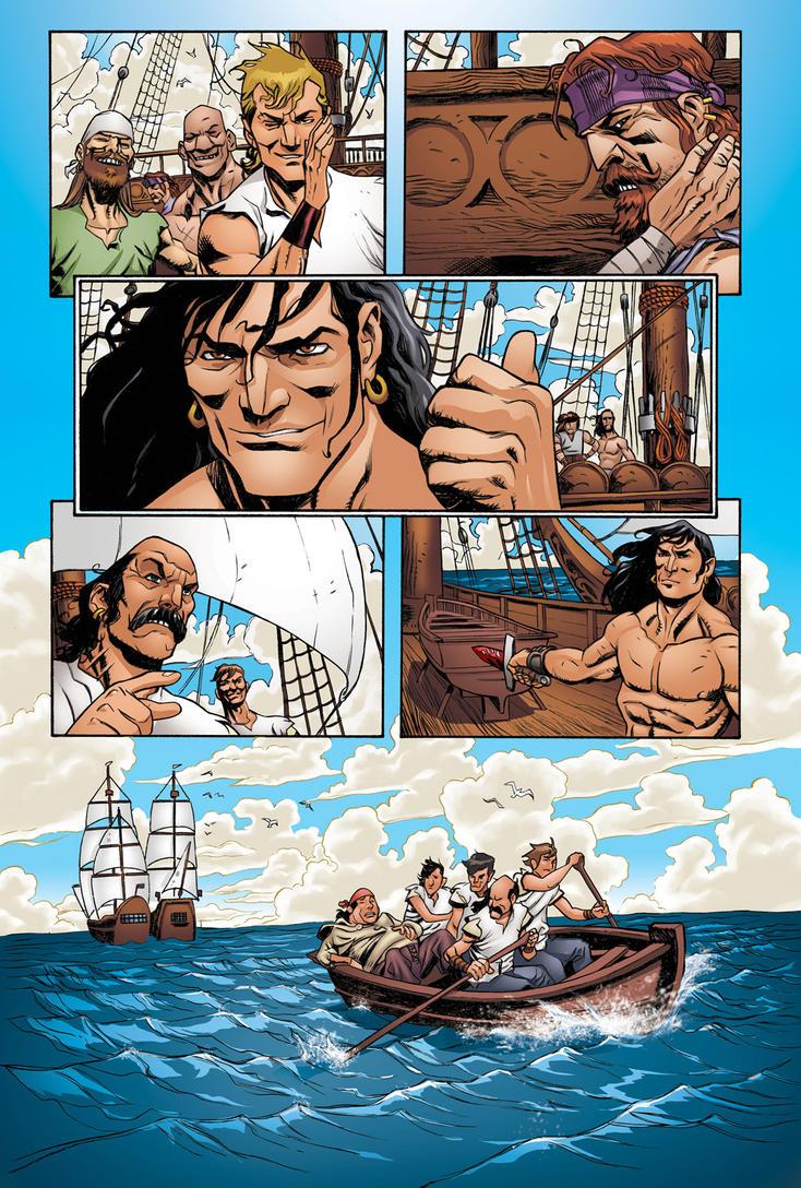 Conan1 pg4 - Colors by luisochoa