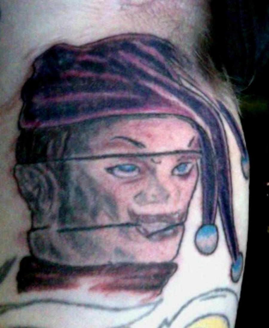 Puppet Master Tattoo Jester puppet master tattoo 3Puppet Master Hands Tattoo
