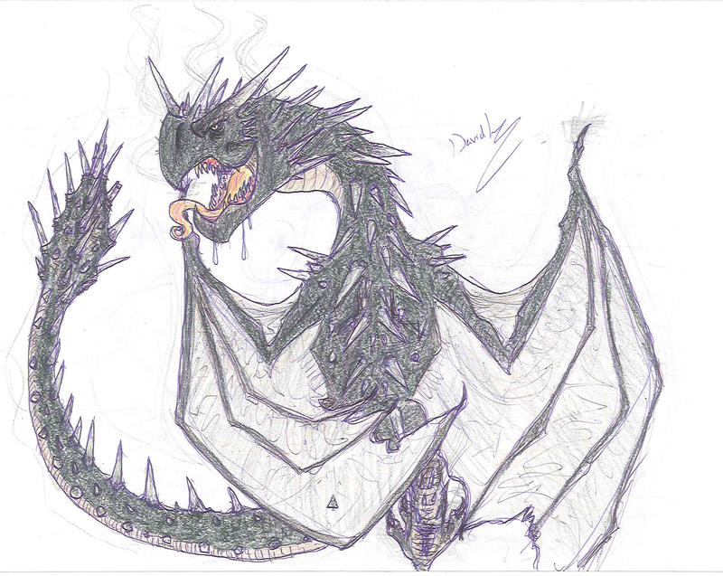 Hungarian Horntail By DaVLoPBoS On DeviantArt