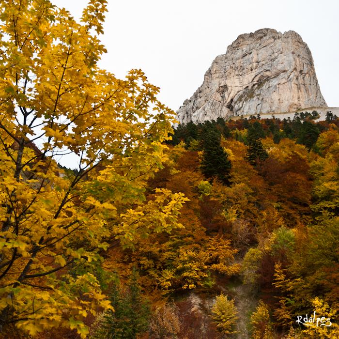 Le mont un automne by rdalpes
