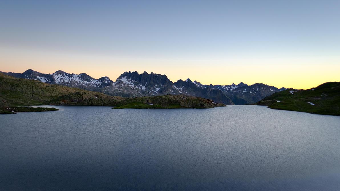 Au dessus du lac by rdalpes