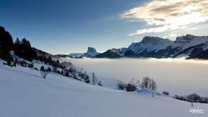 nuages sur la vallee
