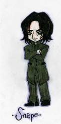 Severus Snape by Silwy-whisky
