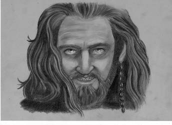 Thorin Oakenshield by Silwy-whisky