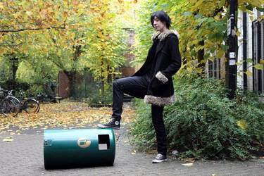 King of dustbins by PickleNana