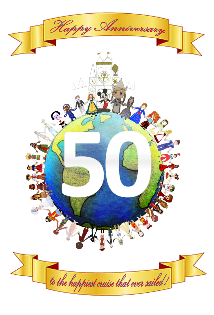 ''it's a small world'' 50th Anniversary Collab by ZoraCatone