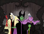 Queens of Darkness by ZoraCatone