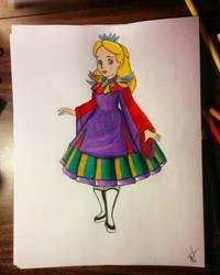 Costume Swap: Alice's Chinese Dress by ZoraCatone