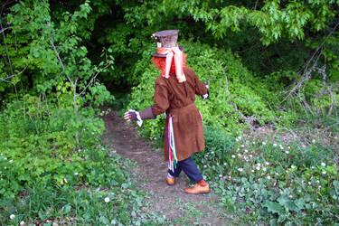Tarrant Hightopp: Into the Tulgey Woods