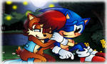 Sonic The Hedgehog Issue 222 Lake Scene