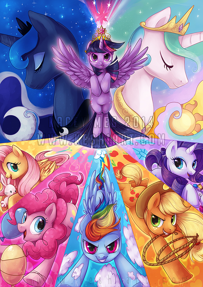 This is ponies by KaceyMeg
