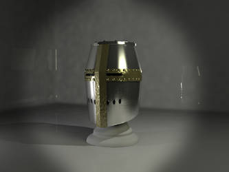 Templar Helmet by AleSWolf