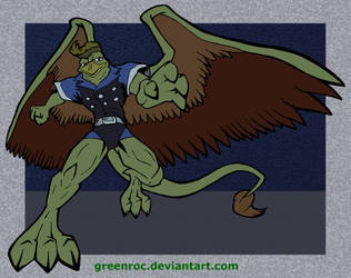 Griff Gargoyle Colored by GreenRoc