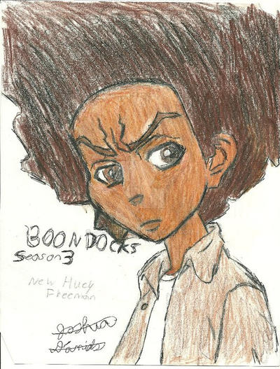 Huey Freeman (Boondocks Season 3) by Joshtrip1
