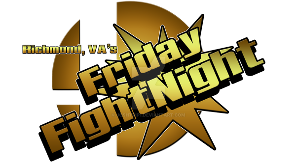 RVA's Friday FightNight Logo by Joshtrip1