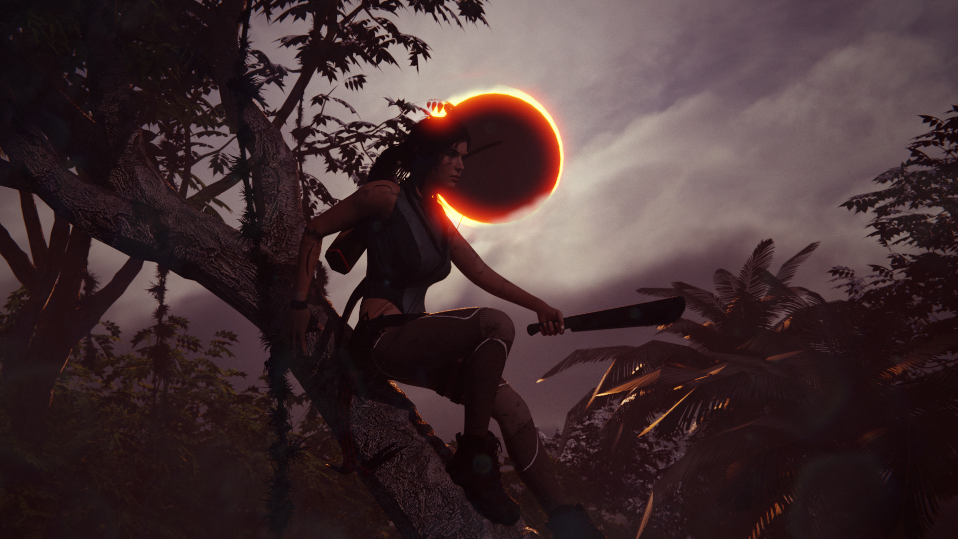 Shadow Of The Tomb Raider Wallpaper By Mandaloking On Deviantart