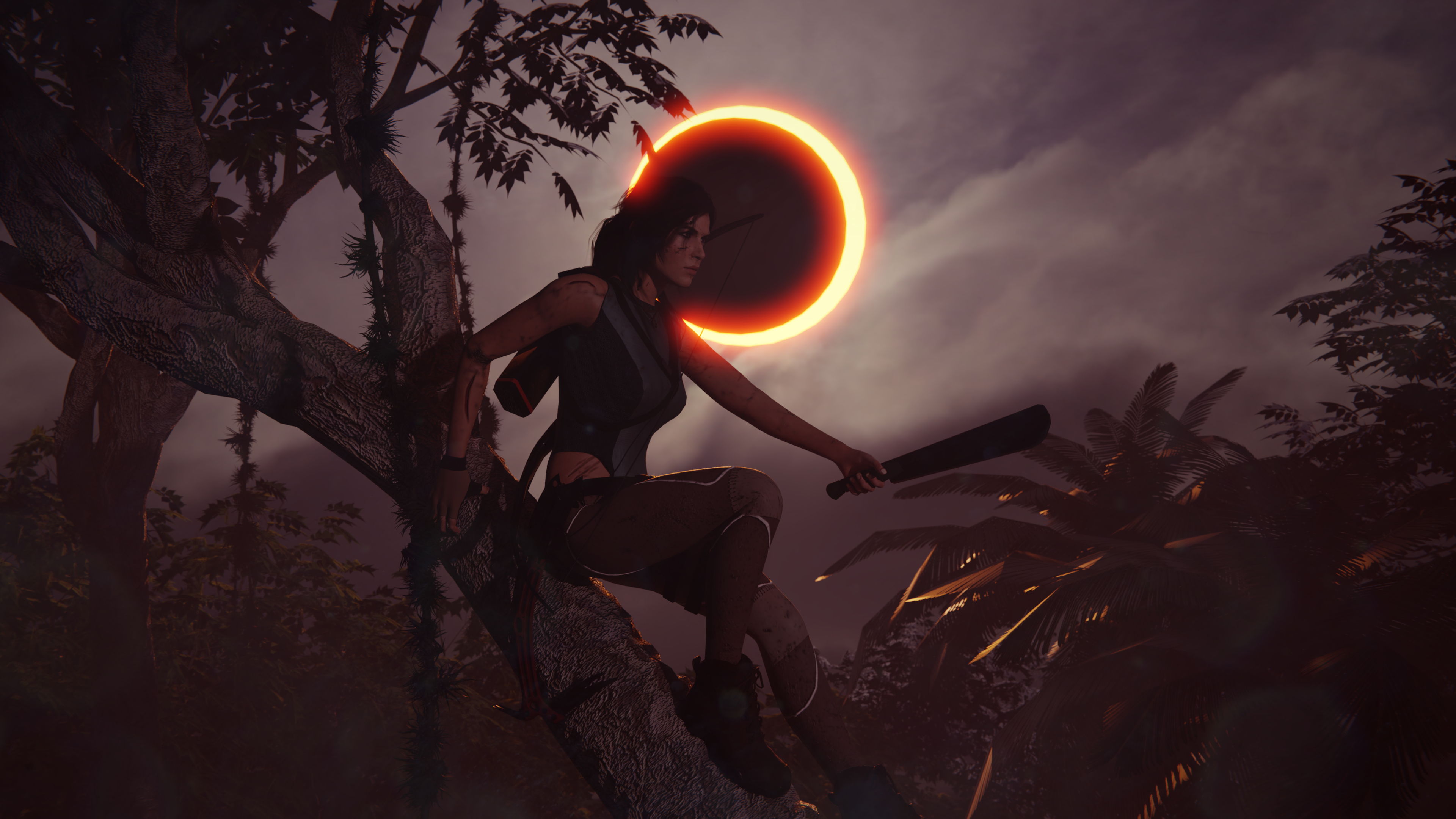 Shadow Of The Tomb Raider Wallpaper 4k By Mandaloking On Deviantart