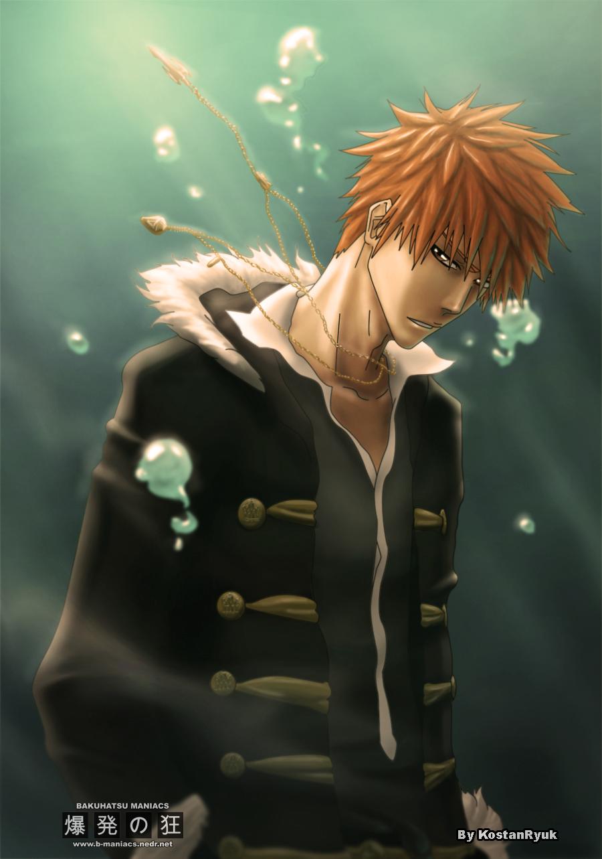 Ichigo, Bleach by KostanRyuk