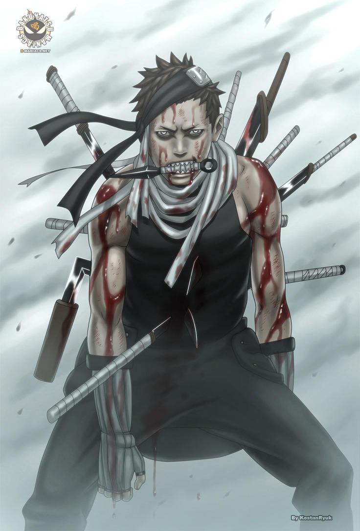 Naruto 521 by KostanRyuk on DeviantArt Zabuza Momochi Face