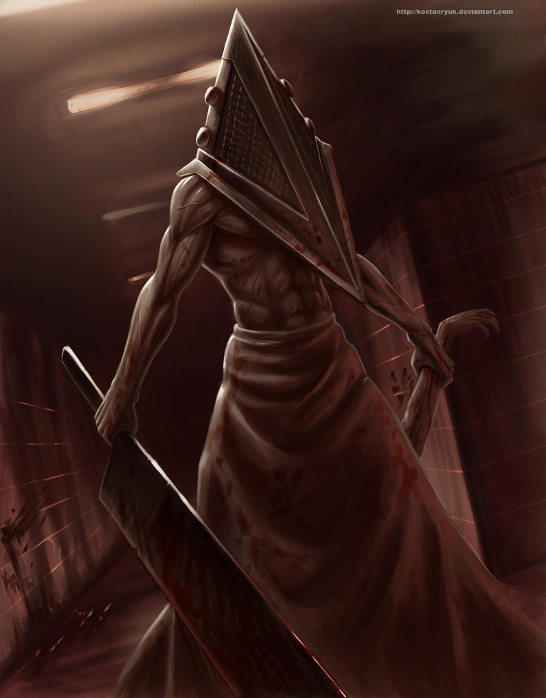 Pyramid head by KostanRyuk