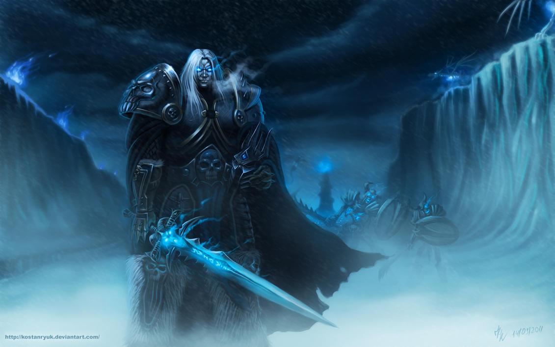 Arthas by KostanRyuk
