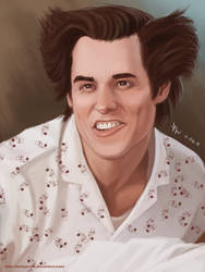 Ace Ventura by KostanRyuk