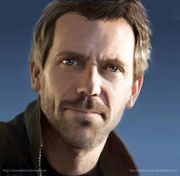 Hugh Laurie by KostanRyuk