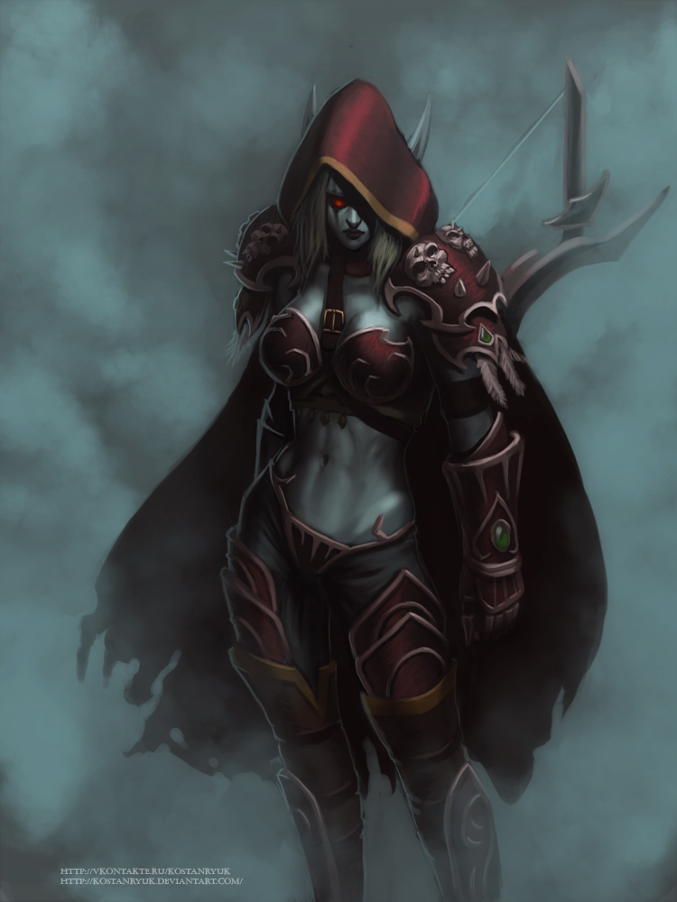 Sylvanas Windrunner by KostanRyuk on DeviantArt