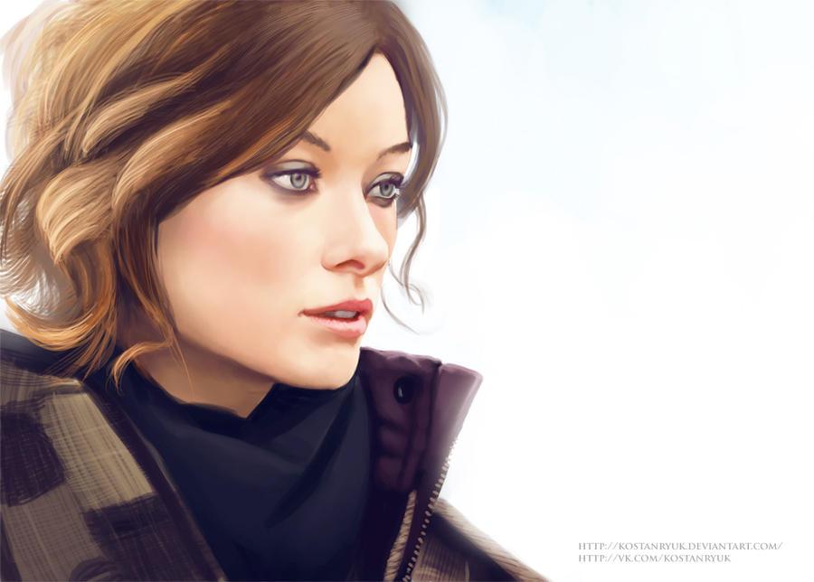 Olivia Wilde by KostanRyuk