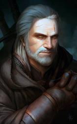 Geralt by KostanRyuk