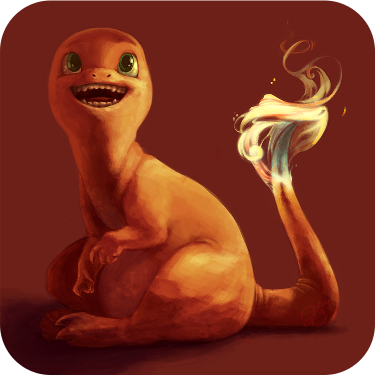 Pokemonathon: 004 Charmander by monokin