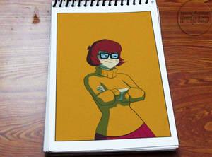 Lazy Drawing - Sarcastic Velma